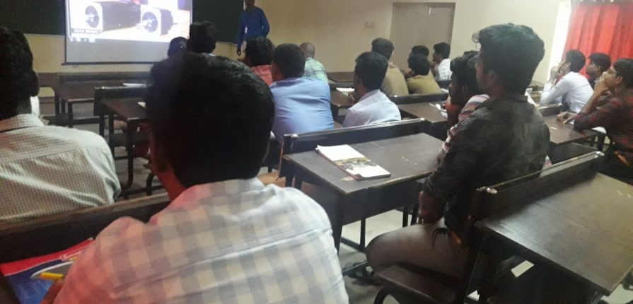 Guest lecture @ Prathyusha Engineering College - CNC